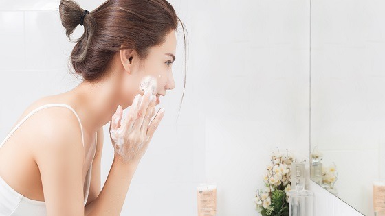 How can you achieve acne-free skin?